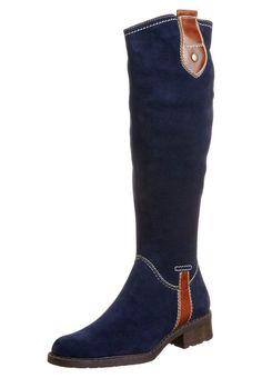 Høje støvler/ Støvler - blå