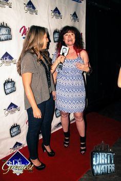 DWT's Jillian talking with Kennedy from Mix 104.1