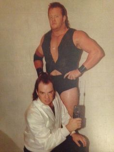 paul heyman and mean mark #undertaker
