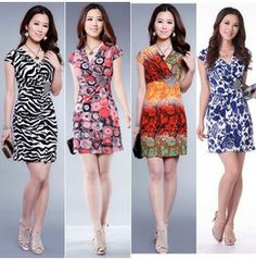 New Women Lace V Neck Summer Dress Sexy Mini Dress Casual Cocktail Party Dress