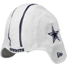 New Era Dallas Cowboys Pigskin Helmet Knit hat - White