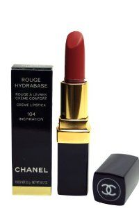 Chanel Hydrabase Lipstick - No.104 Inspiration - 3.5g-0.12oz by CHANEL. $32.26. Lips / Lipstick. New in Box. **No U.S. Sale Tax** 3.5g/0.12oz. Chanel Rouge Hydrabase Crème Lipstick 104 Inspiration. Chanel Rouge Hydrabase Creme Lipstick 104 InspirationLong-lasting moisturizing lipstick with trendy colours. It has a satin finish with medium coverage. Lips are soothe and protected by chamomile and Vitamin E. It won't smudge, fade or feather wit