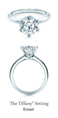 Tiffany Round Shape Diamond