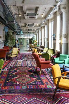 Fabrika hip Hostel in Tbilisi