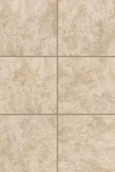 General Ceramic 18x18 Floor Tile Naxos Crema Tile