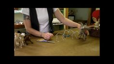 sarafina fiber arts | ... Needle Felt - Small Armature: Sarafina Fiber Art Episode 1 - YouTube