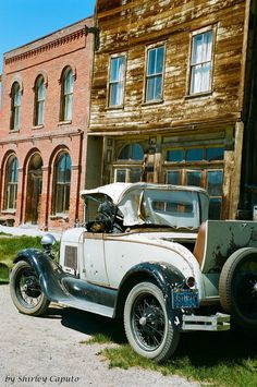 Bodie Ghost Town & Park - California. An old preserved town from the Gold Rush days USA