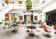 Stile coloniale e pezzi di design per l'albergo situato nel cuore di Casco Viejo, a Panama City
