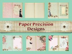 Excited to share the latest addition to my #etsy shop: printable digital download  vintage steampunk ladies theme journal kit #collage #printable #digital #journal #vintage #diy