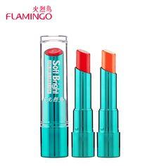 FreeShipping Flamingo Brand pintalabios Moisturizer Smooth 9 Vivid Color Long Lasting Nutritious Waterproof Lipsticks