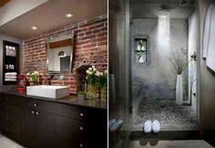 deux exemples en briques et béton