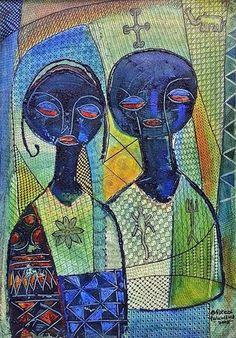 Nike Davies-Okundaye - Between Husband And Wife