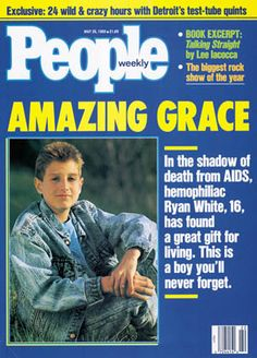 Ryan White and the AIDS terror.