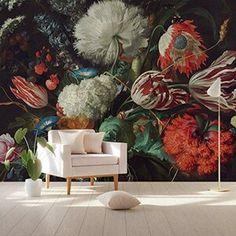 World Of Interiors, Red Tulips, Tulips Flowers, Peony Flower, Wall Flowers, Flower Wallpaper, Of Wallpaper, Wallpaper Online, Temporary Wallpaper