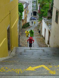Sarria, Spain - Camino