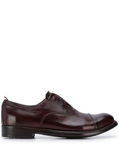 Officine Creative Lace Up Shoes Exeter In Purple Lace Up Shoes, Dress Shoes, Officine Creative, Leather And Lace, Loafers Men, Oxford Shoes, Burgundy, Women Wear, Slip On