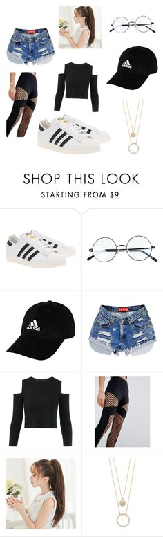 """Untitled #144"" by nasteexomohamud on Polyvore featuring adidas Originals, adidas, ASOS and Kate Spade"