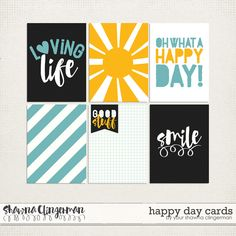 Source: Happy Day! Freebie and my AWESOME NEWS! | Shawna Clingerman Designs