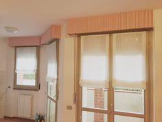Tenda oscurante a soffitto con pendenza mansarda