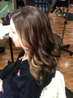 balayage, cut and style By Whitney Renee' Anderson    http://www.facebook.com/BellaHairandMakeup