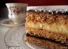 Menu Wędrowca Starego i nie tylko. Polish Desserts, Polish Recipes, Polish Food, Sweet Recipes, Cake Recipes, Food Cakes, Vanilla Cake, Tiramisu, Banana Bread
