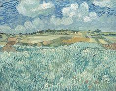 """Vincent van Gogh, """"Plain near Auvers"""", 1890                                                                                                                                                     More"""