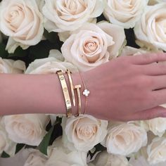 Current love right now is cartier love bracelet! My dream to own this. If only…