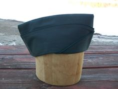 US Army Garrison Cap - Vintage Military Hat - 1950's - Size 7 1/4, Original by LucysLuckyDeals on Etsy