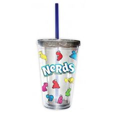 All Over Nerds Candy Travel Cup