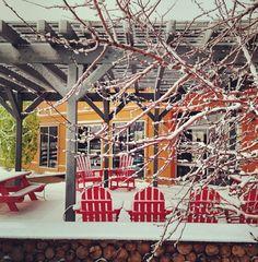 Snow at The Stapleton Visitor Center #lovestapleton