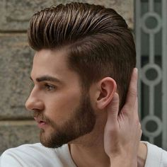 Comb Over Pompadour - Best Men's Haircuts: Cool Hairstyles For Guys - Fade, Undercut, Quiff, Faux Hawk, Comb Over, Spiky Hair, Side Part, Slicked Back Hair #menshairstyles #menshair #menshaircuts #menshaircutideas #mensfashion #mensstyle #fade #undercut