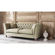 Sofa 3-Sitzer aus Leinen