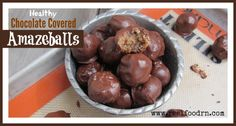 """After I made them up and we all gave them a try, the only word that came to mind was """"amazeballs"""" because I was just amazed at how so few ingredients could make such a delicious treat!!!"""