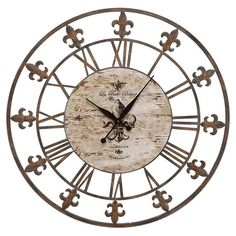 I pinned this Sable Indoor/Outdoor Wall Clock from the Outdoor Retreat event at Joss and Main!