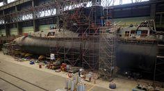 Cómo fue la obra de reparación de media vida del submarino ARA San Juan - LA NACION (Argentina)