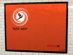 Mad Men Subway Poster Hacks