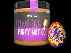 Creme Egg Nut Butter - Just in time for Easter, Funky Nut Co. has debuted its Cadbury Creme Egg nut butter. While Cadbury Creme Eggs are already an Easter staple, this sw. Creme Egg Mcflurry, Healthiest Nut Butter, Cadbury Eggs, Cadbury Creme Egg Recipes, Butter Spread, Cashew Butter, How To Make Cookies, Baking Ingredients, Nutella