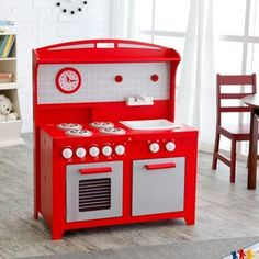 Hideaway Folding Retro Kitchen - Red  83$