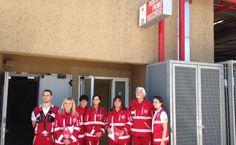 Al centro commerciale Porta di Roma ecco il punto di primo soccorso della Croce rossa. Novità assoluta in Italia