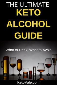 Keto Alcoholic Drinks Guide - what low carb and keto friendly drinks you can have on keto. Ketogenic Diet Menu, Keto Diet Plan, Low Carb Diet, Ketogenic Recipes, Ketosis Diet, Ketogenic Lifestyle, Diet Recipes, Breakfast, Smoothie Recipes