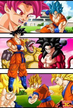 Dragon Ball 30th Anniversary - Goku by Majingokuable on DeviantArt