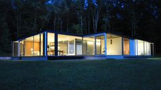 'Feels like we're floating': See inside this glass house