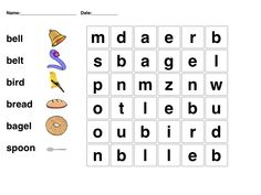 easy word search printable , This time we have collected for you a selection of easy word search for kids that you can use to test and train their brain to be more active! Word Puzzles For Kids, Word Games For Kids, Worksheets For Kids, Reading Worksheets, Printable Worksheets, Free Printable, Printables, Educational Games For Kids, Kids Learning Activities