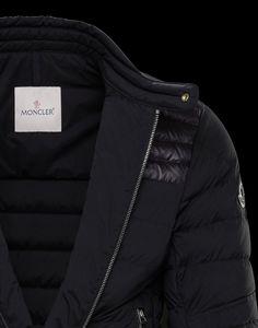 Moncler CYR for Man, Biker jackets   Official Online Store Mens Down Jacket, Bomber Jacket Men, Down Quilt, Biker Jackets, Collar And Cuff, Moncler, Store, Shopping, Fashion