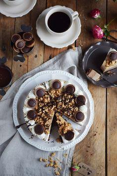 Toffifee Karamell Eis Torte - Ice Cream Cake with caramel and chocolate   Das Knusperstübchen
