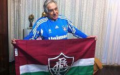 Uma das últimas fotos do Félix com a bandeira do Flu!!!!
