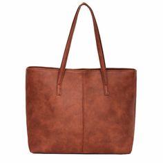 Yogodlns bag 2018 fashion women leather handbag brief shoulder bags gray /black large capacity luxury handbags tote bags design Designer Purses And Handbags, Luxury Handbags, Shoulder Handbags, Shoulder Bags, Shoulder Straps, Bags 2018, Tote Handbags, Tote Bags, Bucket Handbags