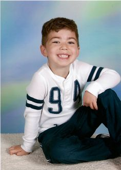 My handsome grandson in his 2012 school picture.