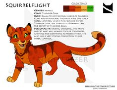 This is the ref sheet of Lionblaze for the project that I'm working on, from Erin Hunter series, Warriors. *Edit*I put watermarks on all the Warriors character sheets I've made cause people k...