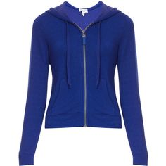 SPLENDID French Terry Hoodie ($256) ❤ liked on Polyvore featuring tops, hoodies, jackets, shirts, sweatshirts, hoodie shirt, blue hoodie, french terry sweatshirt, zip front hoodie and sweatshirts hoodies